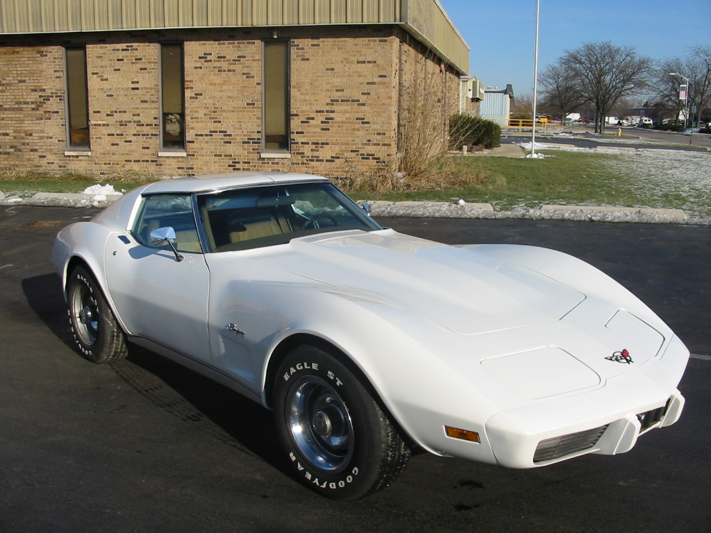 1974 Chevrolet Corvette Coupe, this was right after washing it on a saturday after work, exterior
