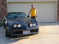 1981 Chevrolet Corvette Coupe, just after a paint job
