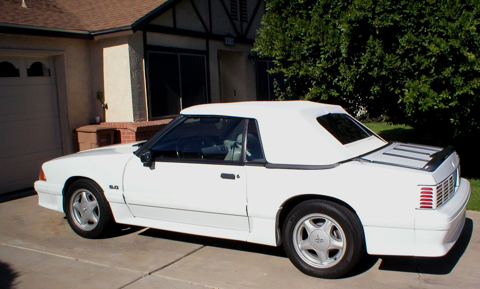 Wtb 91 93 Convertible Gt 5spd White Ford Mustang Forums Corral 89 Town Car Fuse Box Corralnet Forum