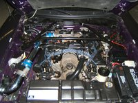 """1996 Ford Mustang GT Coupe RWD, 4.6L 2V 5spd BBK Cold Air Intake BBK 75mm Throttle Body  1"""" Throttle Body Spacer 3"""" Exhaust And Just Waitin 4 NOS!, gallery_worthy"""