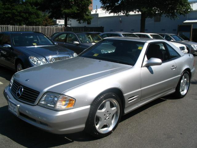 2001 Mercedes-Benz SL-Class 2 Dr SL500 Convertible, Picture of 2002 Mercedes