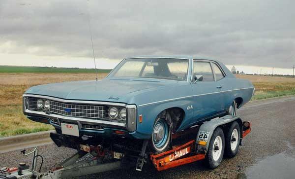 1969 Chevrolet Bel Air, 1969 Bel Air, Glacier Blue