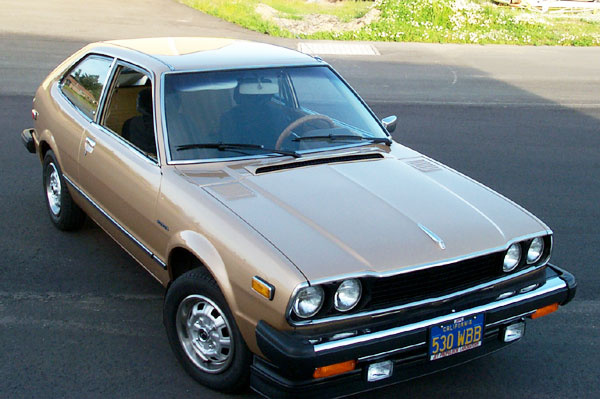 1978 Honda Accord LX Hatchback, Recent Photo after the one paint job it has had., gallery_worthy