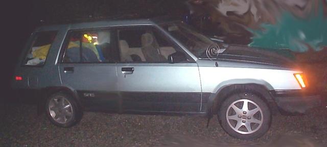 1986 Toyota Tercel, 86 tercel SR5 wagon