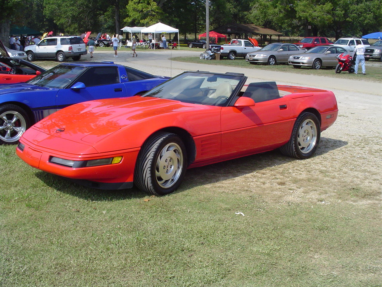 1994 Chevrolet Corvette Convertible, 26 September 2004