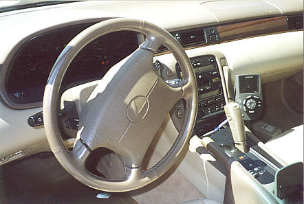 2000 Lexus SC 400, This is the interiour of the lexus