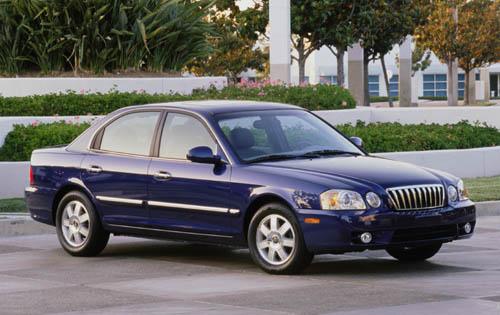 2003 Kia Optima, '04 Kia Optima, exterior