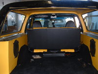 "1977 Chevrolet Blazer, Custom Speakers Boxes 2 - 10""  .... 2 - 6"" x 9"" ....4 - 2"" Speakers in Custom Headliner, gallery_worthy"