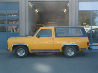 1977 Chevrolet Blazer, Prowler Yellow & Black