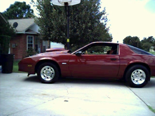 1987 Chevrolet Camaro Base, heres my pic of my camaro.(side view), exterior