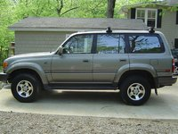 "1997 Toyota Land Cruiser 40th Anniversary Limited 4WD, My 40th Anniversary after her 3 inch lift (just new springs / struts from an Australian kit called ""Old Man  Emu"", exterior, ga..."
