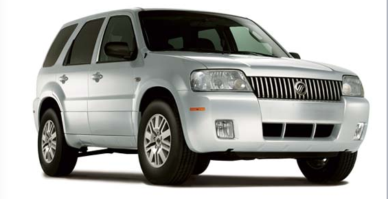 Front view of the '07 Mercury Mariner.