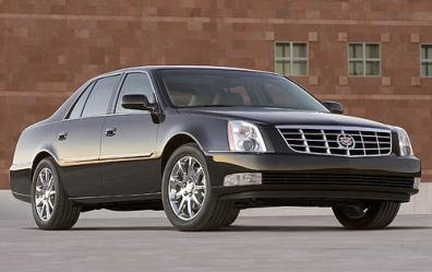 Here is the outside view of the 07 cadillac DTS
