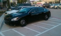 2010 Nissan Maxima SV, New wheels, exterior