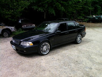 1998 Volvo S70 4 Dr T5 Turbo Sedan, MY T5, exterior