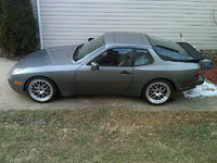 1987 Porsche 944, New wheels!  Getting close to being done!, exterior