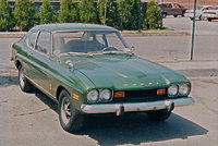 1970 Mercury Capri Overview