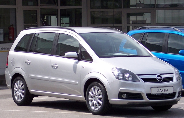 Picture of 2006 Vauxhall Zafira