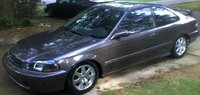 1998 Honda Civic Coupe, my old coupe, exterior