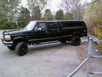1993 Ford F-350 4 Dr XLT 4WD Crew Cab LB, the new truck had to get away from fast cars for a while, exterior, gallery_worthy