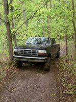 1993 Ford F-350 4 Dr XLT 4WD Crew Cab LB, 5 and ridge, exterior