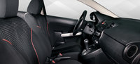 2011 Mazda MAZDA2, frontseat , interior, manufacturer