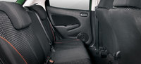 2011 Mazda MAZDA2, backseat, interior, manufacturer