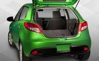 2011 Mazda MAZDA2, trunk space, exterior, interior, manufacturer