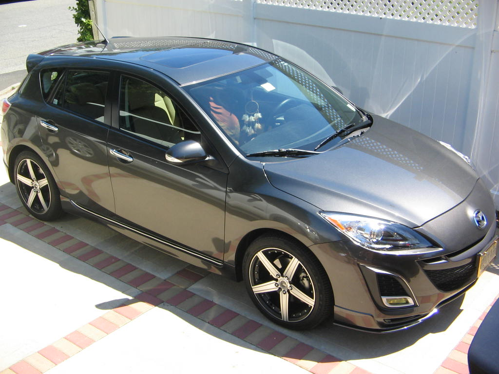 picture of 2010 mazda mazda3 s grand touring hatchback exterior. Black Bedroom Furniture Sets. Home Design Ideas