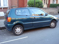 1997 Volkswagen Polo, THIS HAS NOW BEEN WRITTEN OFF AS SOME WOMEN WENT INTO THE BACK OFF ME., exterior