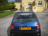 1989 Toyota Starlet Overview
