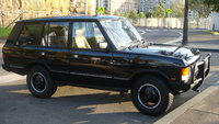 1991 Land Rover Range Rover 4WD, Front Side View - 1991 Range Rover CSK in Beluga Black (3.9 Injected Petrol, Auto). This was the last year a range rover was offered with Coil Spring Suspension as sta...