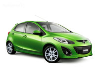 2010 Mazda MAZDA2, Front-quarter view, exterior, gallery_worthy