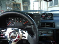 1985 Audi 4000, What my boost/water temp gauge should look like..., interior