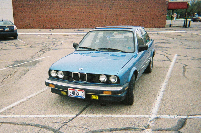 Picture of 1987 BMW 3 Series 325e Sedan RWD, exterior, gallery_worthy
