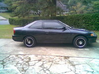 1998 Mitsubishi Mirage DE Coupe, blacked, exterior