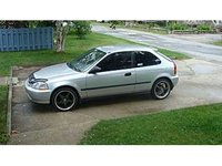 1996 Honda Civic CX Hatchback, 1996 Honda Civic 2 Dr CX Hatchback picture, exterior
