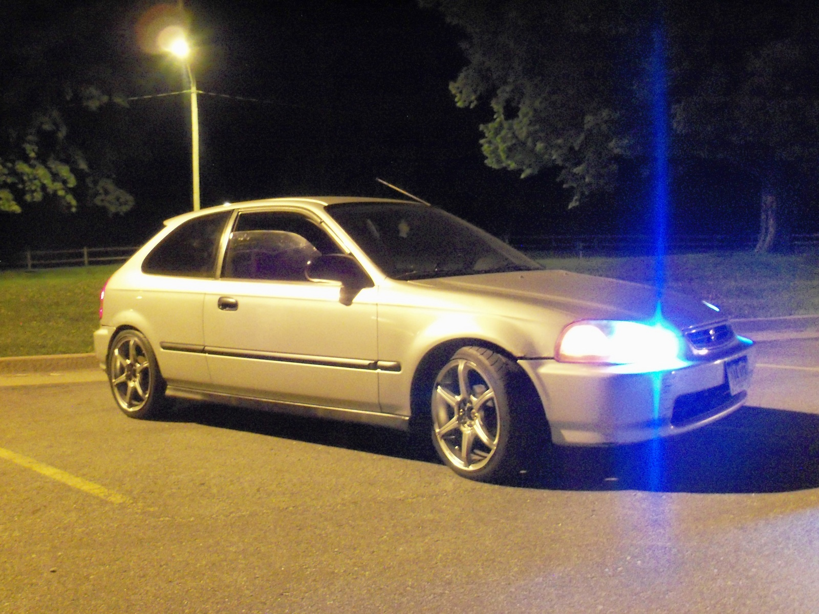 Picture of 1997 Honda Civic DX Hatchback, exterior