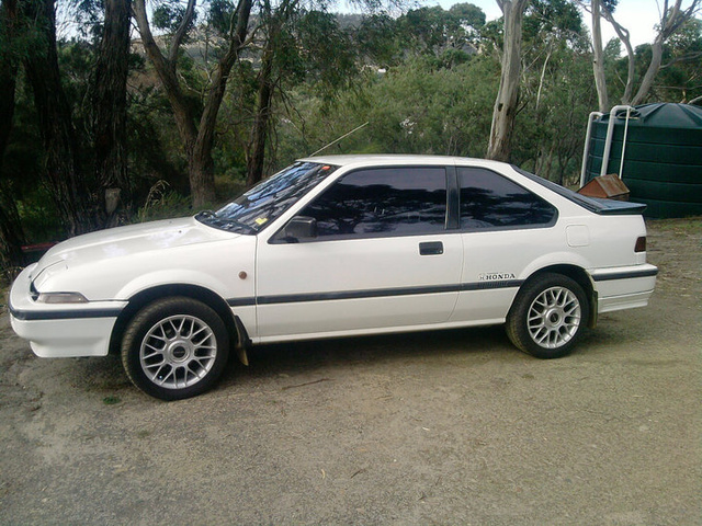 1986 Honda Integra, looking through the paper on the day we got the tegra, i totally dismissed the it but was encouraged by my dad and partner to atleast go and have a look, so i put it on the bottom ...