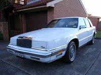 1989 Chrysler New Yorker, The Chrysler, old plates., exterior