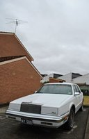 1989 Chrysler New Yorker, The Chrysler, new plates., exterior