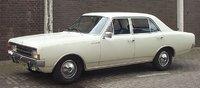 1986 Opel Rekord Overview