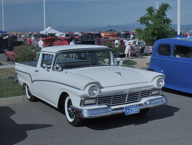 1957 Ford Ranchero, Good guys show....2006. This nearly identical pic ended up in the Goodguys Gazette in the 8/2006 issue; I was quite surprised., exterior, gallery_worthy