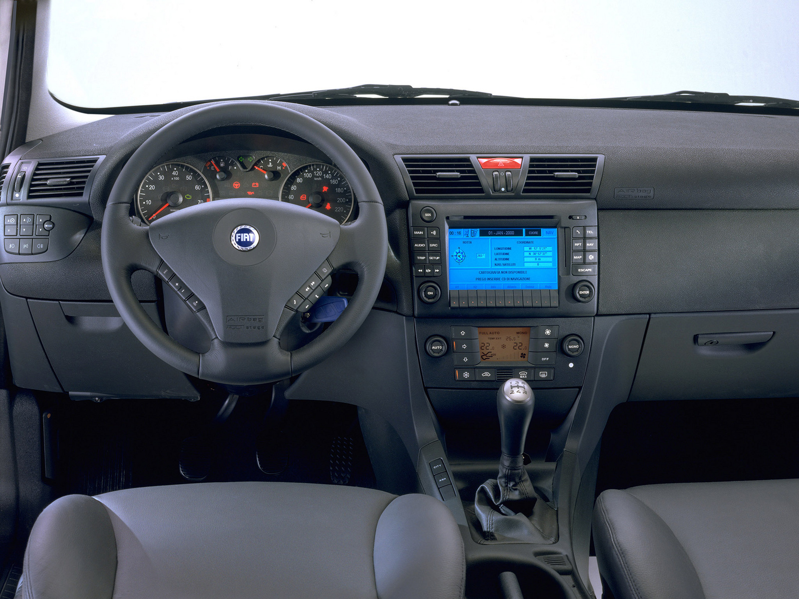 2001 Fiat Stilo Interior Pictures Cargurus