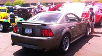 "My 2002 Ford Mustang GT Premium - Mineral Gray Metallic - Off Road X-pipe with 4"" Magnaflow Exhaust -   * All American Car Show Honorable Mention for Excellence in Class  * Early Mustang Club..."