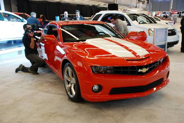 2011 Chevrolet Camaro 2SS, Its Black Doe, exterior