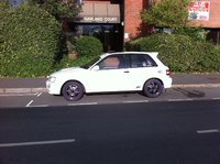 1993 Toyota Starlet, New polished rims now painted purple ; ), exterior