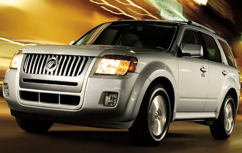 2011 Mercury Mariner, Front Left Quarter View, manufacturer, exterior