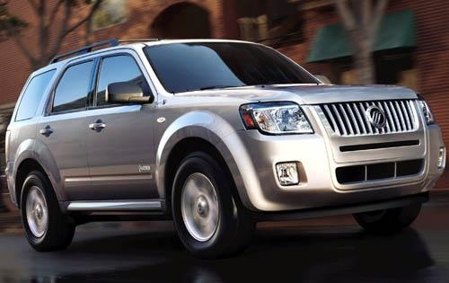 2011 Mercury Mariner Hybrid, Front Right Quarter View, exterior, manufacturer
