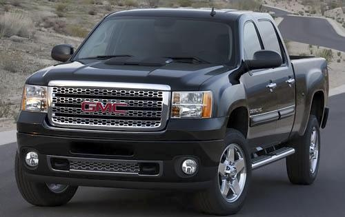2011 GMC Sierra 2500HD, Front Left Quarter View, exterior, manufacturer